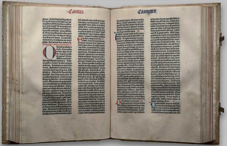 biblia gutenberg
