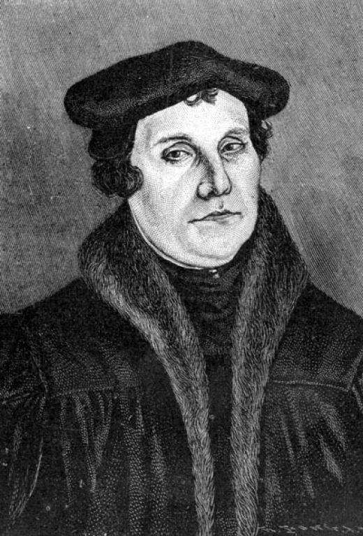 historia Martin Lutero