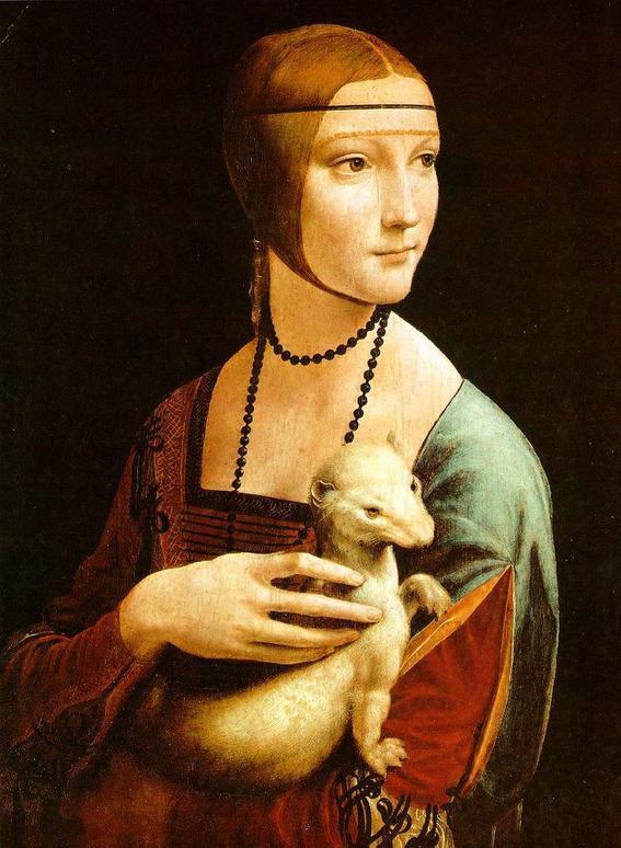 la dama del arminno mejores obras de Leonardo da Vinci