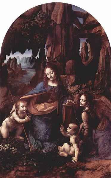 la virgen de las rocas mejores obras de Leonardo da Vinci