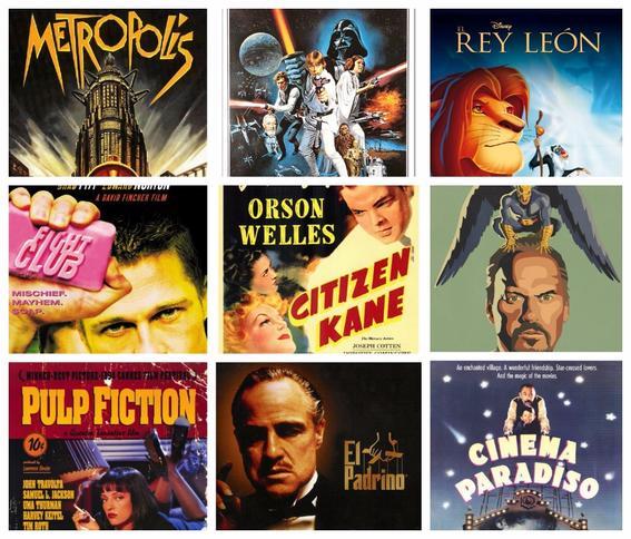 Las mejores 250 películas de la historia ¿Cuántas has visto?