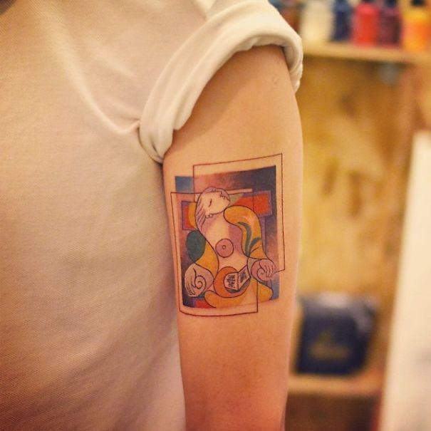 picasso tatuaje