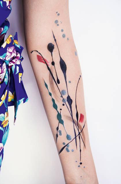 pollock tattoo