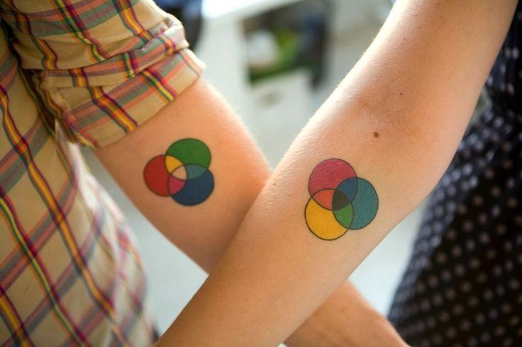 tatuaje colores
