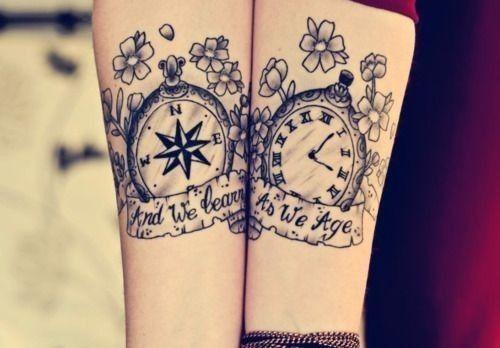 tatuajes brujulas