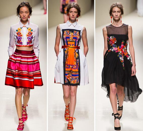 Vestidos para las fiestas patrias mexicanas por grandes diseu00f1adores - Moda