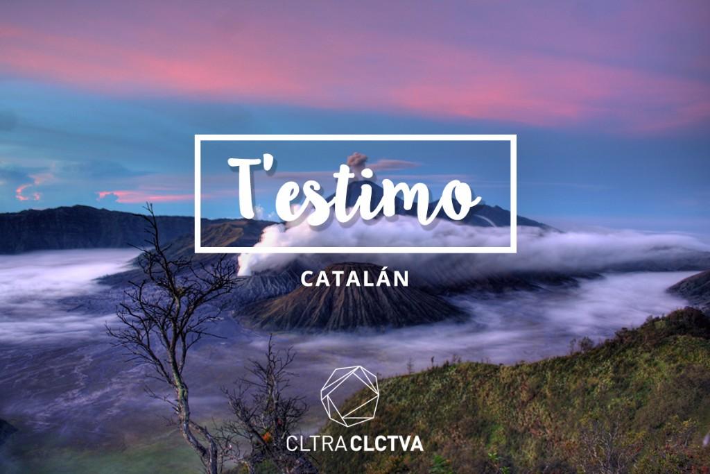 Te amo Catalan