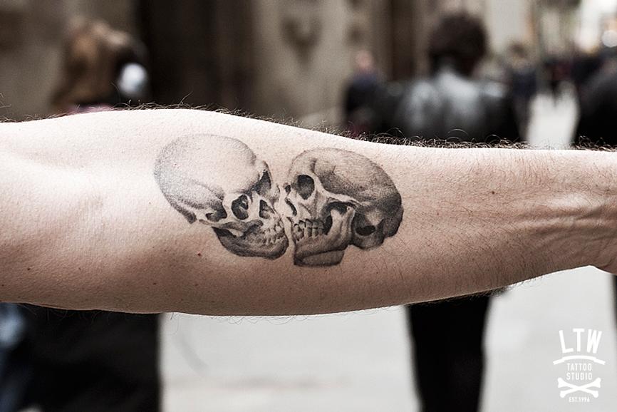 Los Mejores Tatuajes De Calaveras Diseno Diseno