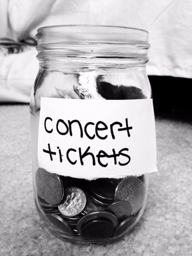 disfrutar un concierto