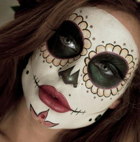 Maquillaje De La Catrina Para El Día De Muertos Diseño Diseño