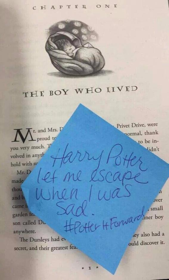 #PotterItForward
