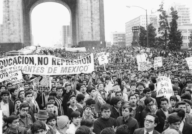 movimiento estudantil 68