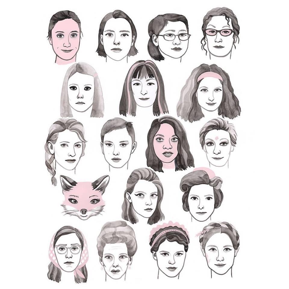 personajes femeninos wes anderson