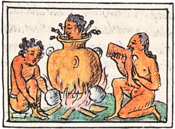 rituales muerte mundo mesoamerica canibalismo
