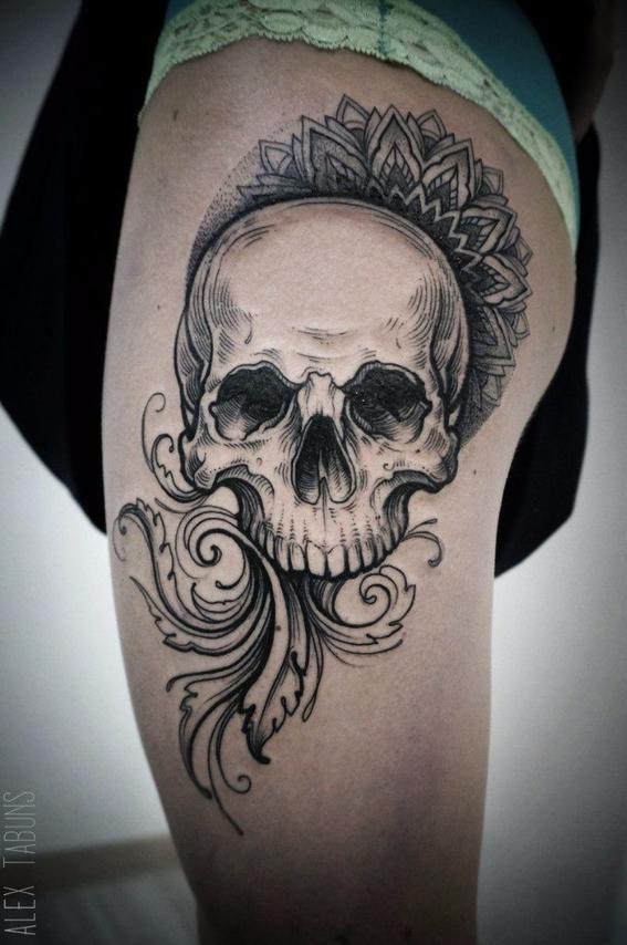 Los mejores tatuajes de calaveras diseo tatuajes de calaveras thecheapjerseys Images