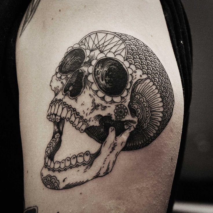 Los Mejores Tatuajes De Calaveras Diseño Diseño