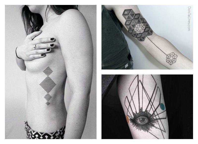 Tatuajes Geometricos Hombres Significado Frasesparatatuajesclub