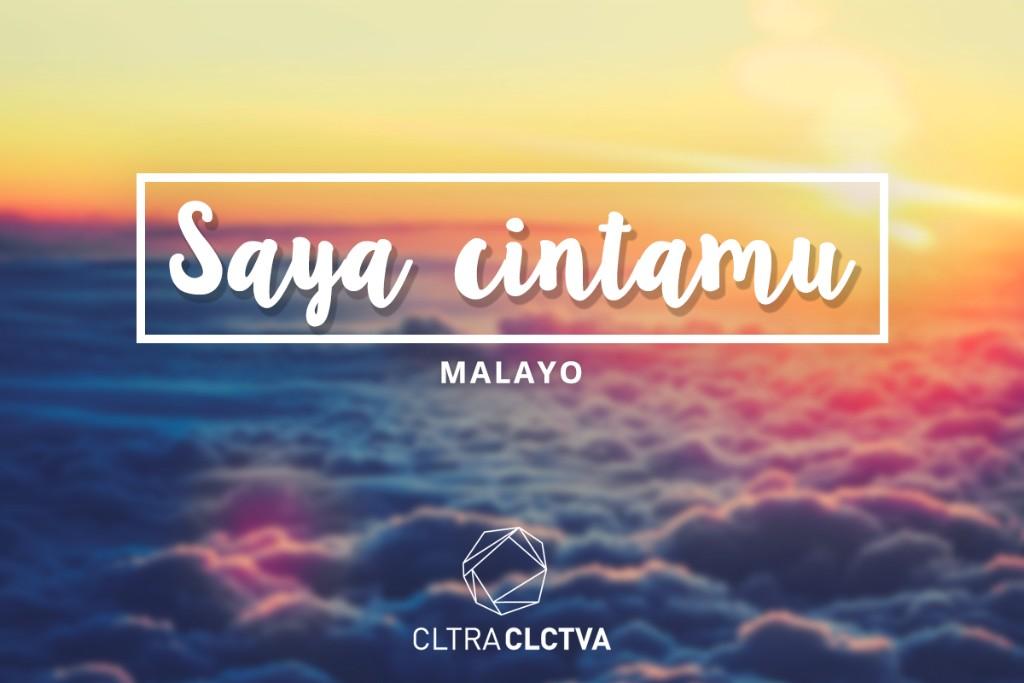 te amo Malayo