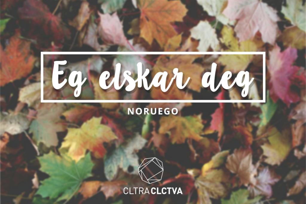 te amo Noruego
