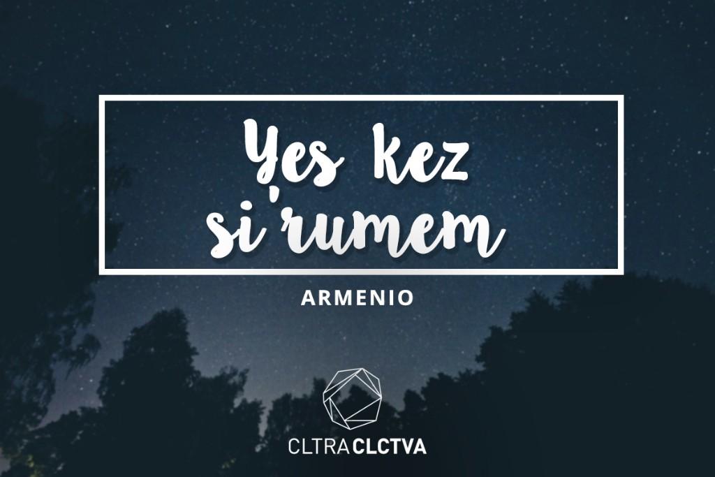 te amo armenio