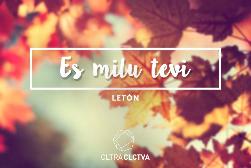 te amo letoin