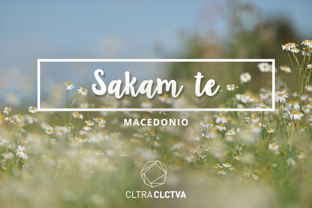 te amo macedonio