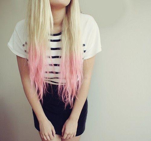 Cabello con colores pastel