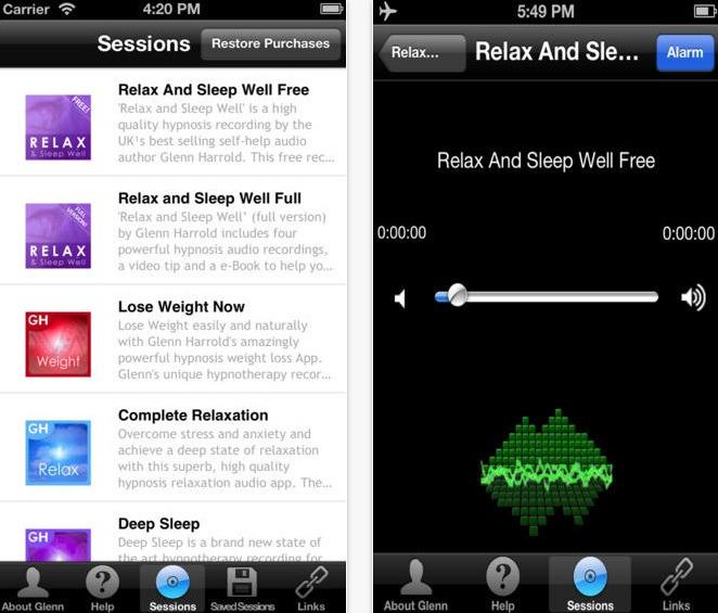 apps dormir relax