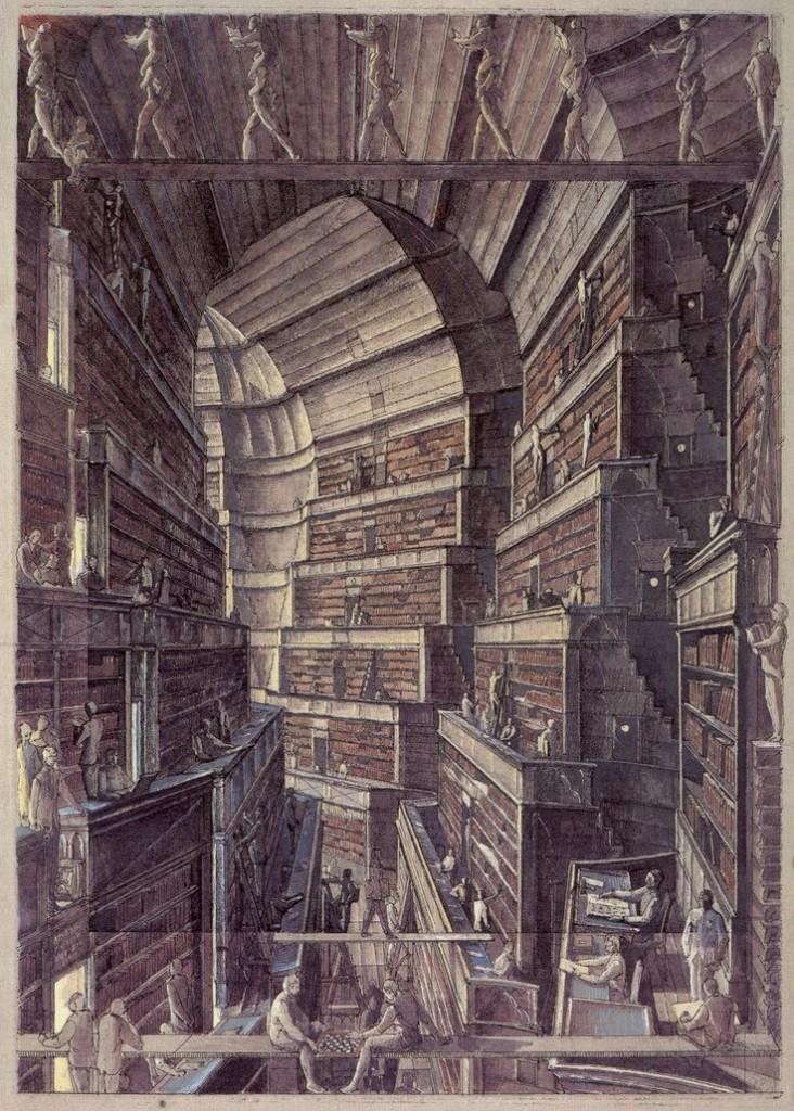 borges biblioteca