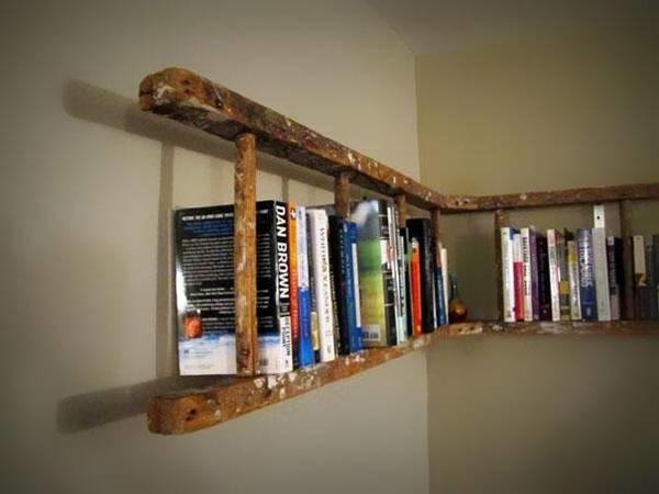 escalera librero