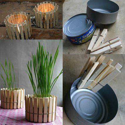 basta pintar y arreglar unas tablas de madera para poner flores y darle un toque distinto a tu espacio