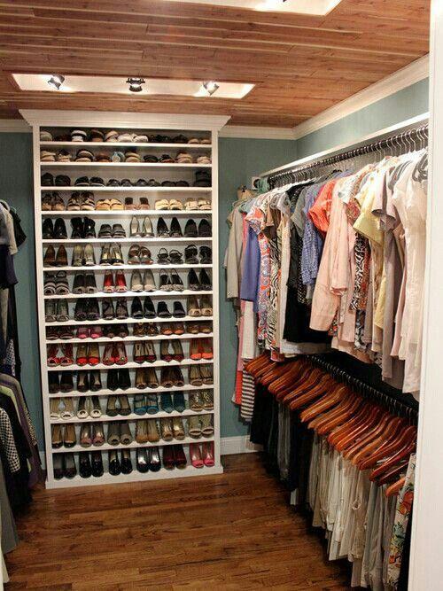 20 ideas para hacer un closet sin gastar dise o for Ideas de closets