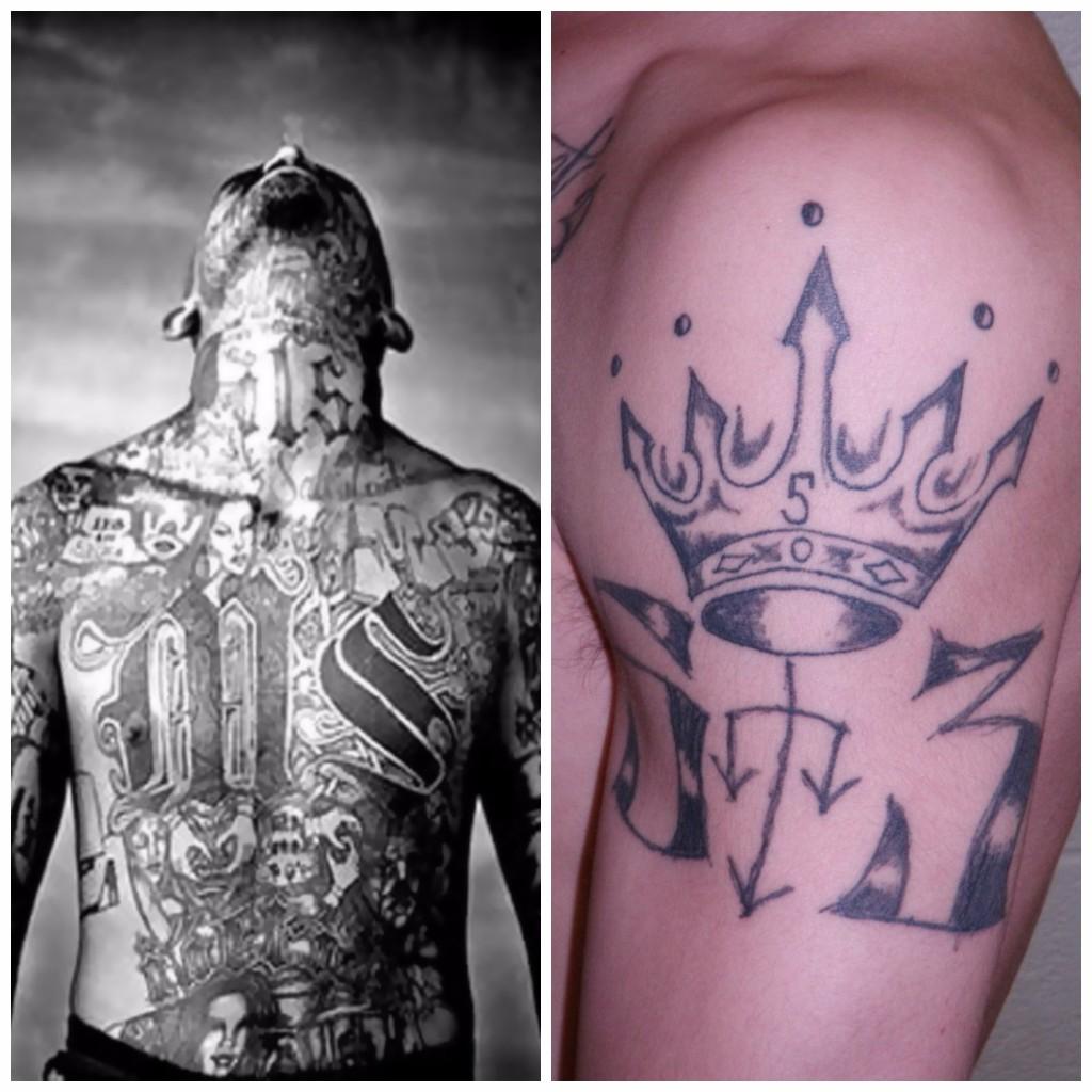 El Significado De Los Tatuajes En Prision Diseno Diseno