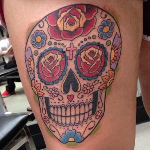 Tatuajes Inspirados En El Día De Muertos Diseño Diseño