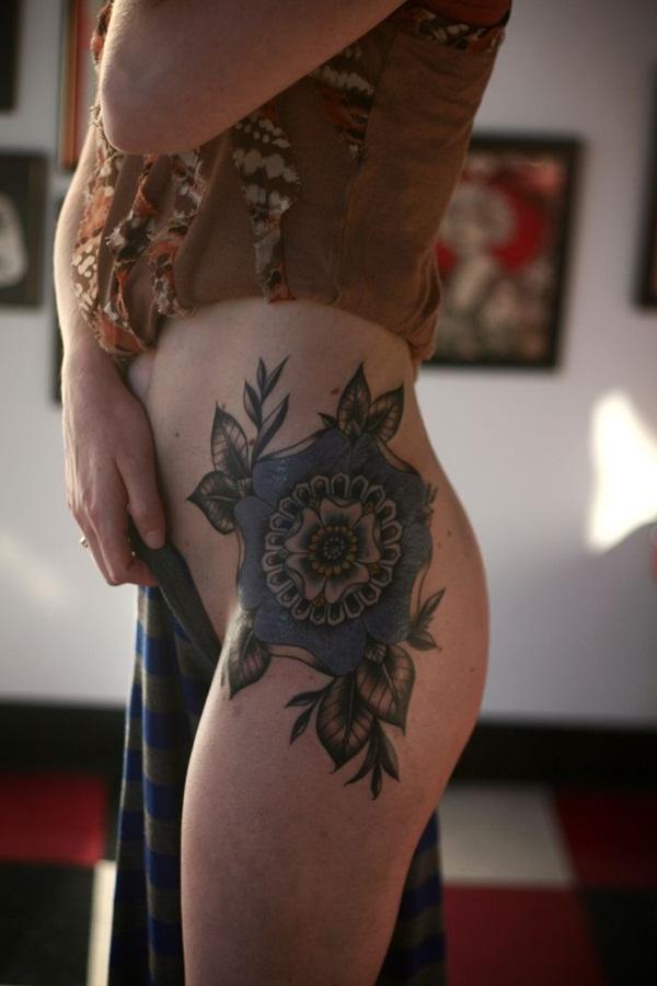 tatuajes en las caderas