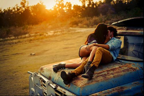 Amor en la camioneta