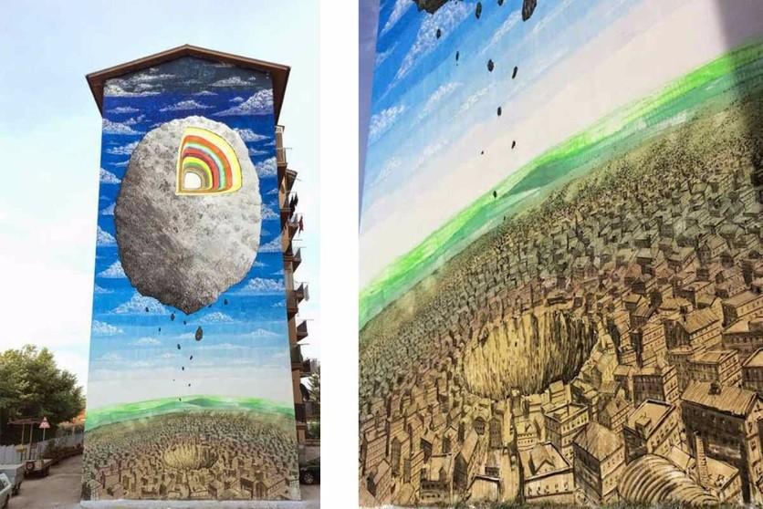 Blu New mural Italy