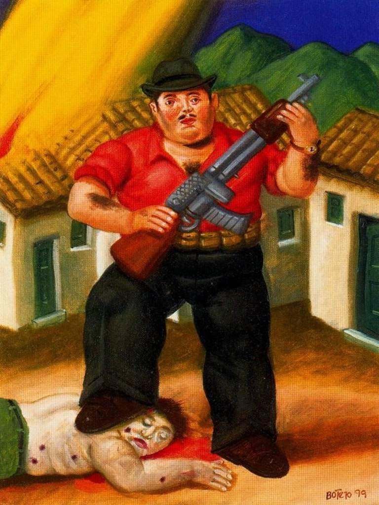 este pintor colombiano nacido en medelln en es uno de los pintores ms por su pintura figurativa donde los sujetos son obesos o de