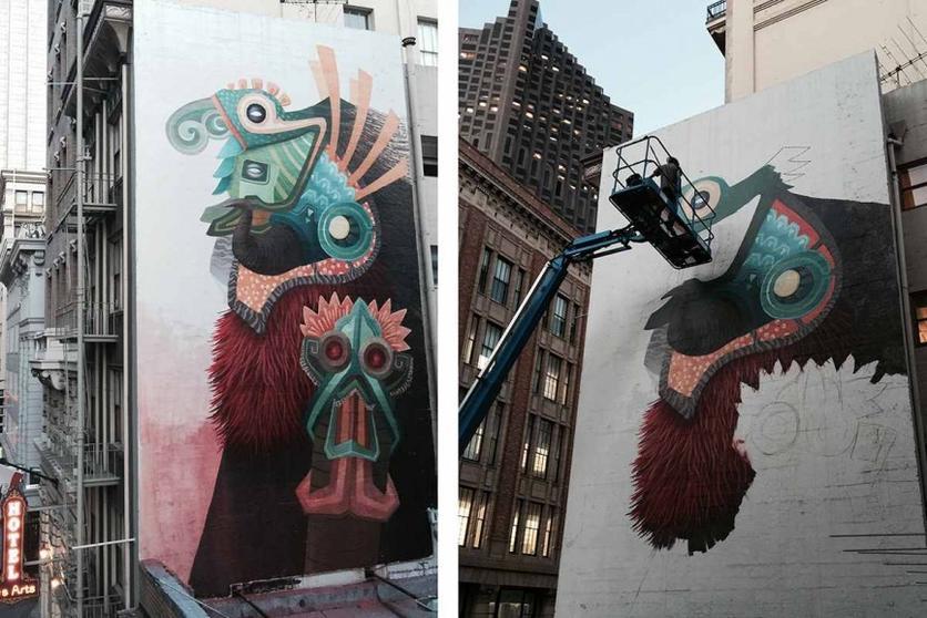 Curiot Mural San Francisco