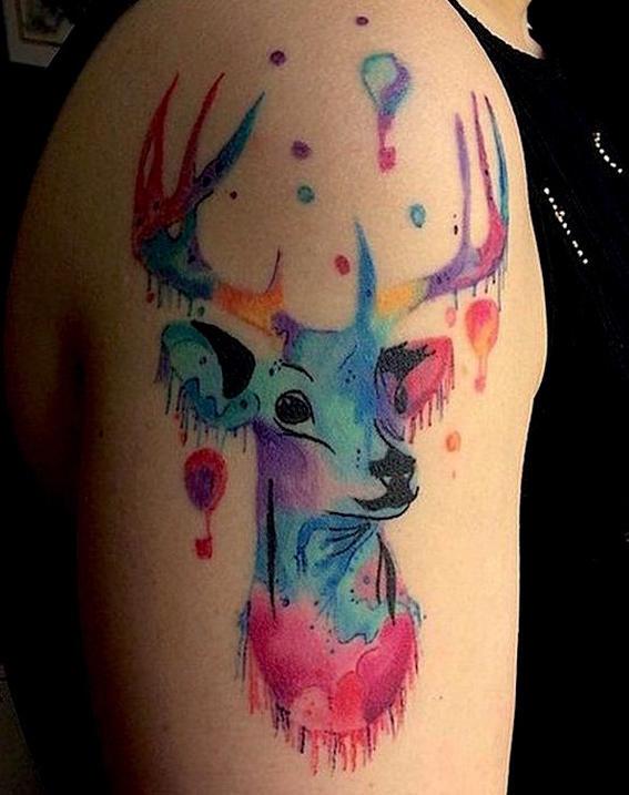 Dear_01 tatuajes de animales
