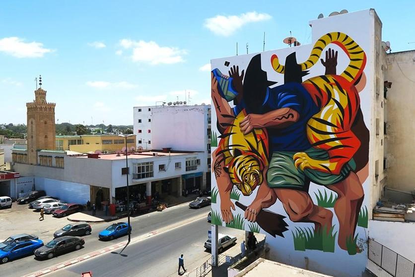 murales famosos del mundo Jaz The Shoe Thief Jidar