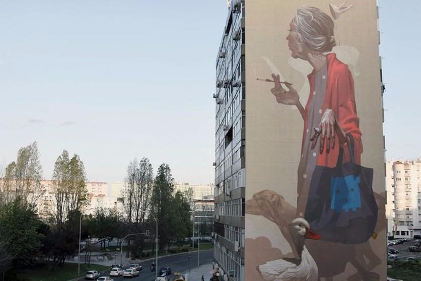 Sainer Mural Lisbon