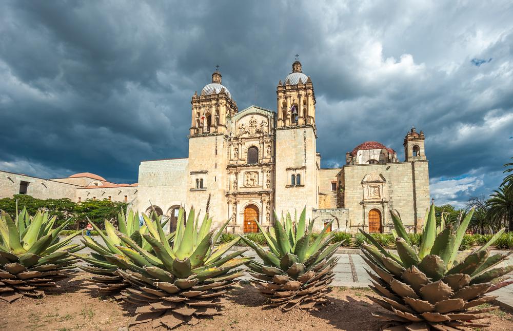 Santo-Domingo-de-Guzman-en-Oaxaca-Mexico