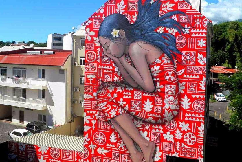 mural famoso del mundo Seth Globepainter