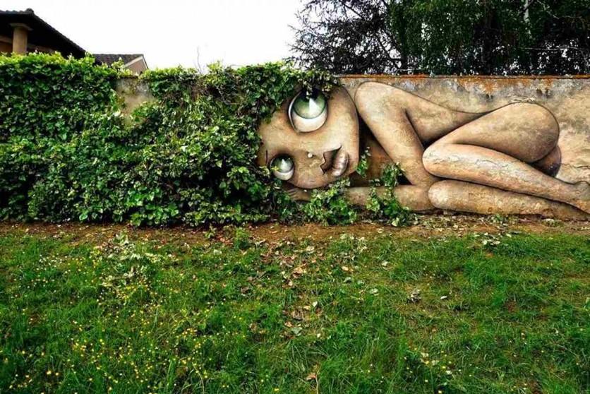 Vinie Mural in Eauze France