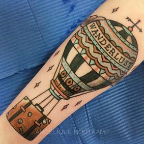 angelique houtkamp tatuaje
