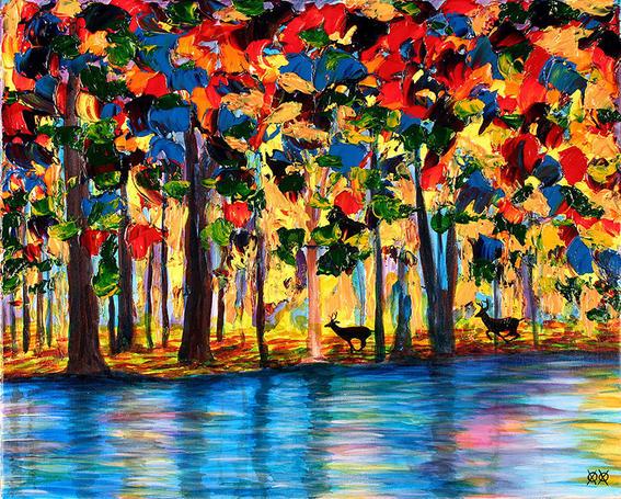 artista ciego pinturas