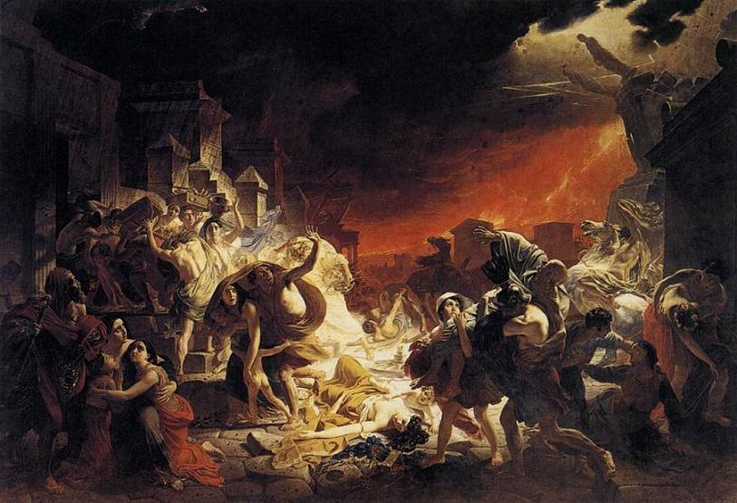 el ultimo dia de pompeya