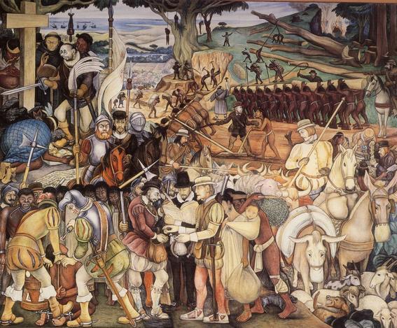 la conquista espanola de la nacion azteca