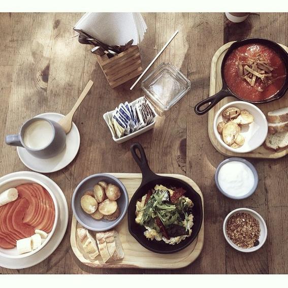 lugares para desayunar en el df
